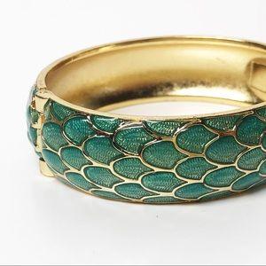 Lilly Pulitzer Mermaid Scale Bangle Bracelet